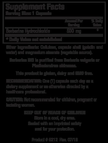 Berberine HCL Facts