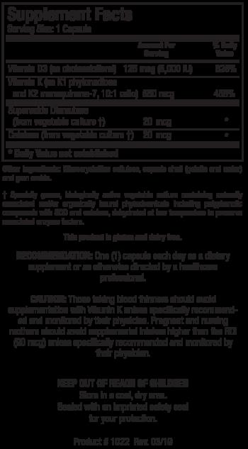 Bio-DK Caps info